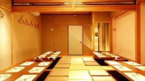 名古屋市栄駅の海鮮和食居酒屋 錦三山車楼 席⑨